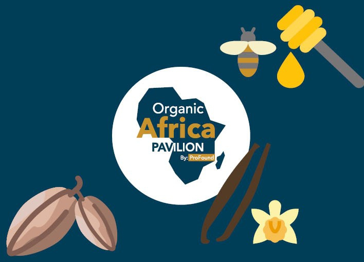Vanilla, honey and cassava organic products at BioFach 2020