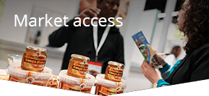 We use our Market Access Solution in BioTrade development