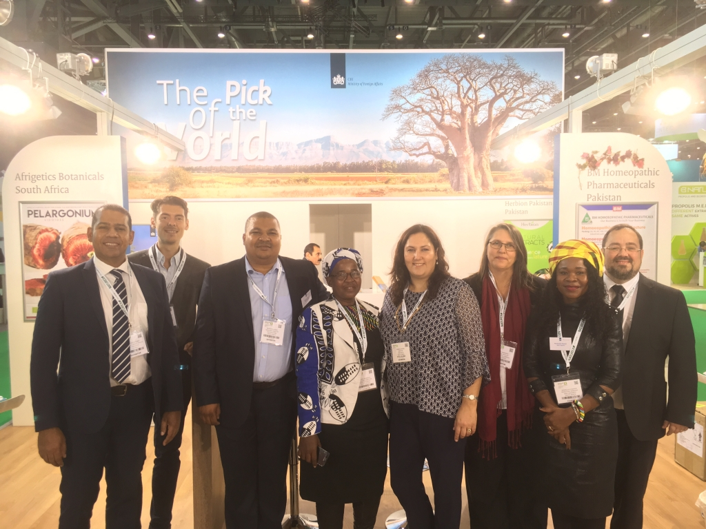 Vitafoods 2018: exporters of natural ingredients from South Africa and Pakistan