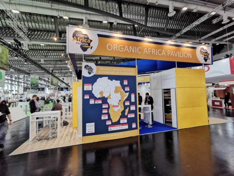 Organic Africa Pavilion 2020