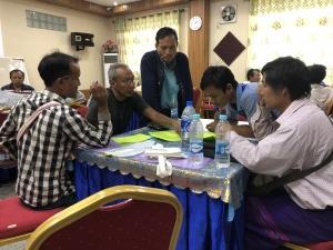 Workshop in Thandaunggyi township