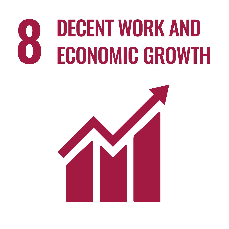 ProFound contributes to Sustainable Development Goal 8