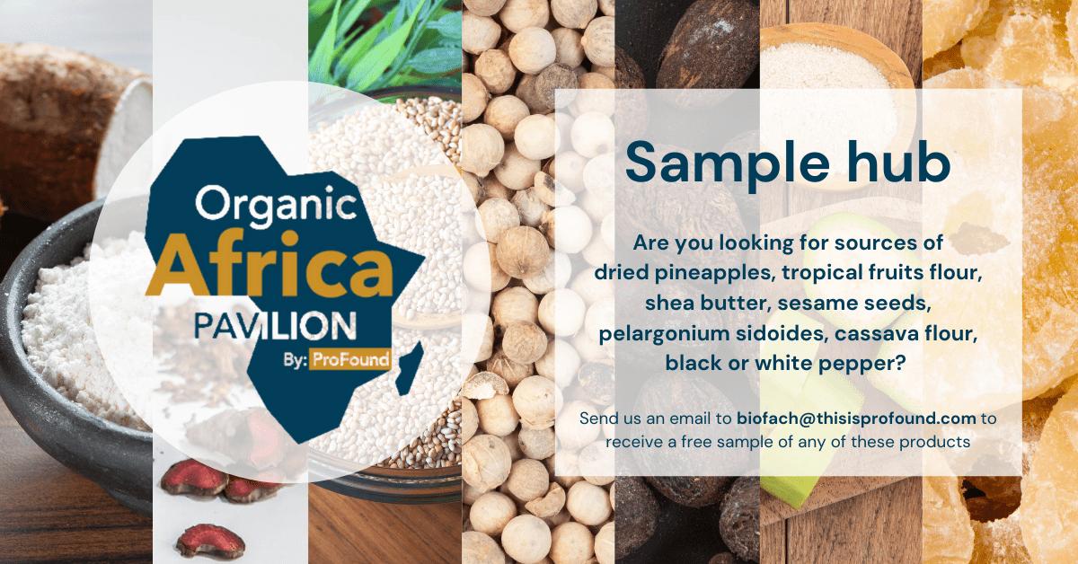 ProFound Organic Africa Pavilion Sample Hub